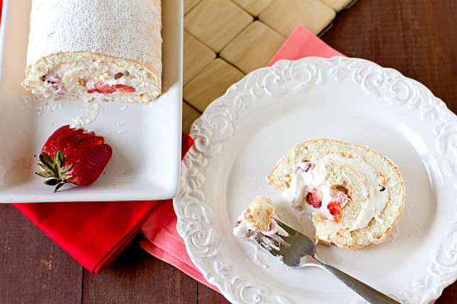Angel Food Cake Cranberry Filling