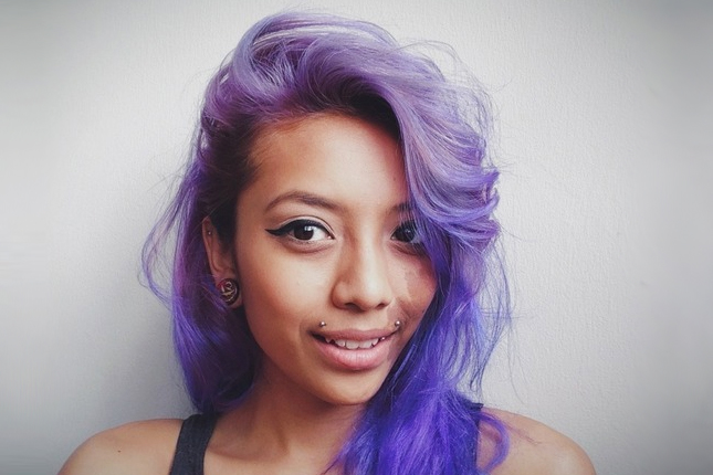 Purple Hair Dye Styles: Warning: These 20 Purple Hairstyles Will Make You Want To