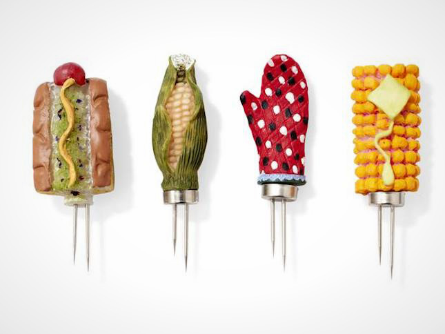 11 Adorable Ways To Skewer Your Corn On The Cob Brit Co