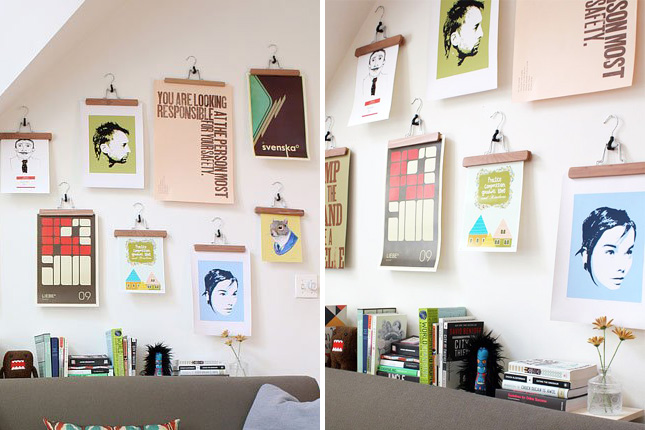 Save A Wall Hang A Poster 20 Ideas For Alternative Art
