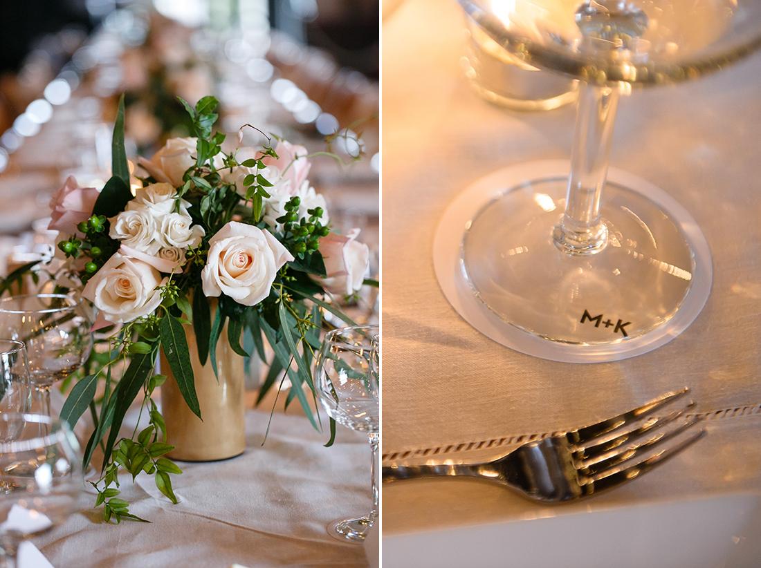DIY Wedding Vase and Coasters