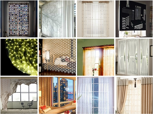 Curtain Call: 12 Nifty Window Dressings for the Modern Home | Brit ...
