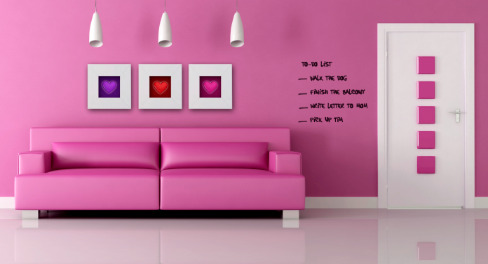 make any surface a drawing pad with transparent dry erase paint brit co. Black Bedroom Furniture Sets. Home Design Ideas